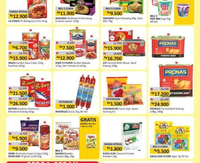 3 Ide Bekal Makanan Anak dengan Katalog Alfamart
