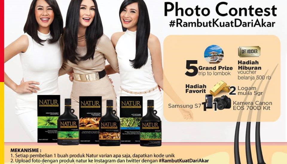 Menangkan Liburan Gratis Ke Lombok dengan Mengikuti Photo contest Natur!