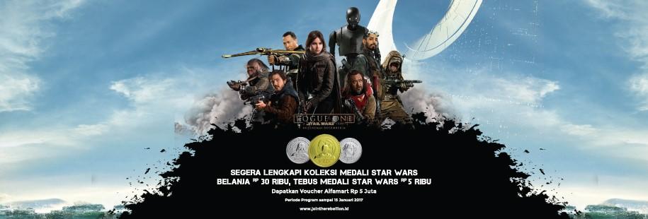 Serunya Koleksi Medali Star Wars Eksklusif Hanya di Alfamart