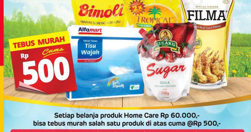 Belanja Makin Hemat dengan Program tebus murah Alfamart
