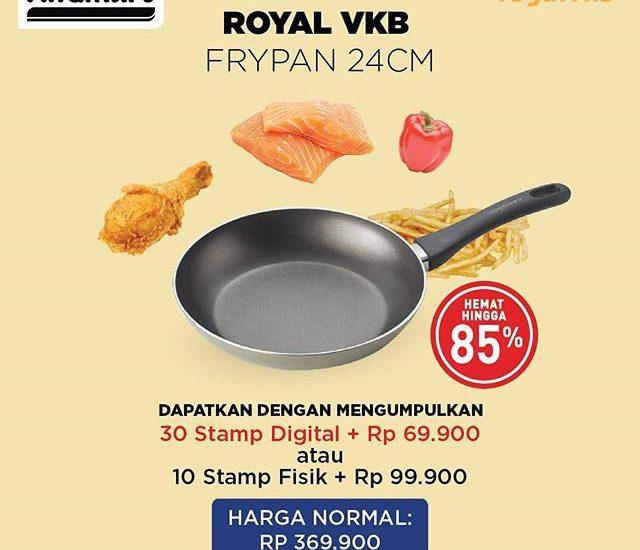 Tambah Koleksi Alat Masak Anda dengan Promo Royal VKB Alfamart