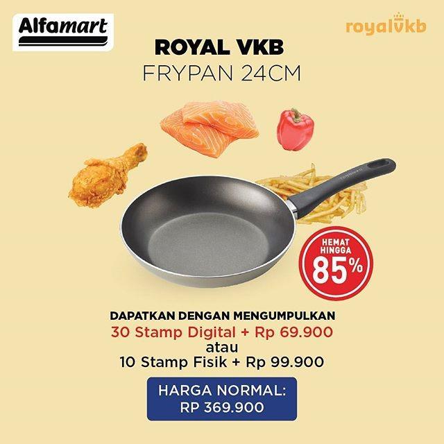 tambah koleksi alat masak anda dengan promo royal vkb alfamart blog alfamartku. Black Bedroom Furniture Sets. Home Design Ideas