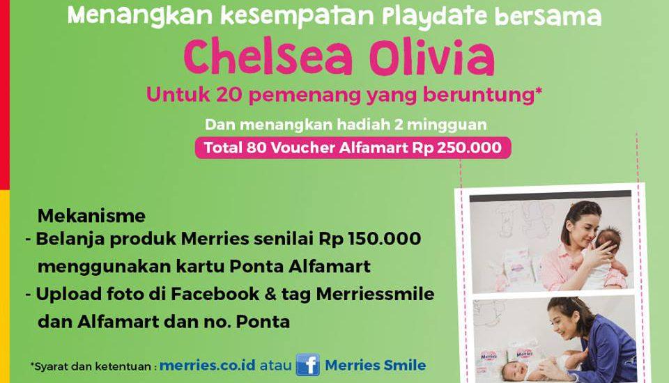 Yuk, Ikut Lomba Foto dan Menangkan Kesempatan Playdate dengan Chelsea Olivia!