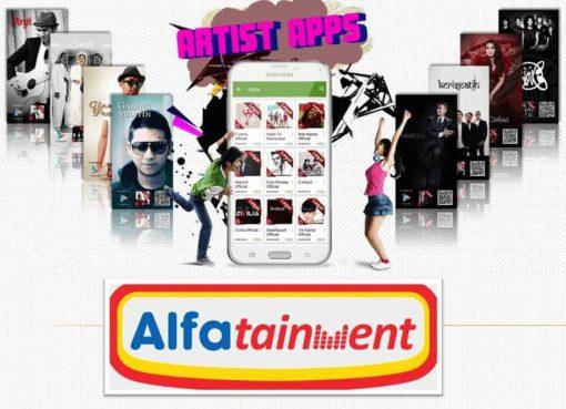 Yuk Nikmati Musik Legal Melalui Aplikasi Alfatainment