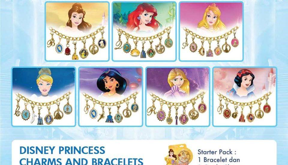 Kumpulkan Koleksi Disney Princess Bracelets Cantik Ini di Alfamart