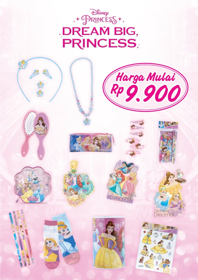 produk Dream Big Princess