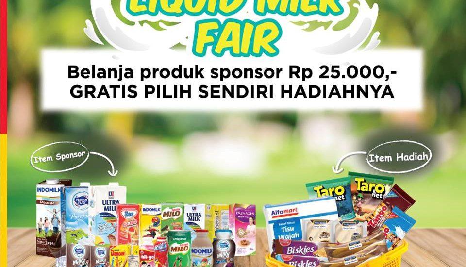 Belanja Berhadiah di Alfamart Bisa Dapat Produk Gratis