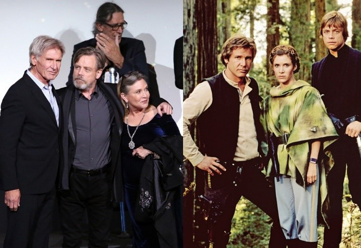 Intip Perubahan Para Pemain Star Wars Berikut Ini