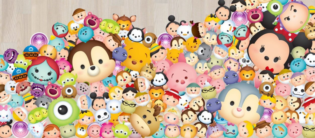 Piring Disney Tsum-Tsum yang Digemari Anak-anak Hingga Dewasa