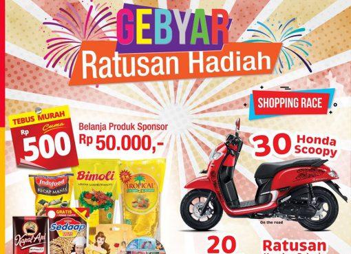 shopping race berhadiah