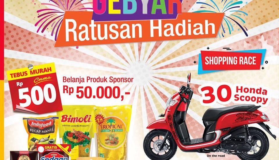 Promo Gebyar Ratusan Hadiah Alfamart Berhadiah Motor Scoopy