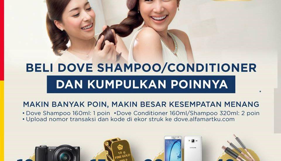 Ikuti Poin Dove Shampoo Berlimpah Hadiah Mewah
