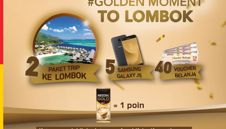 Jangan Ketinggalan Promo Nescafe Gold Trip to Lombok