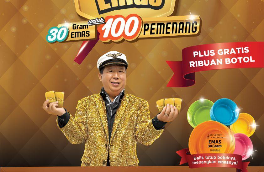 Buruan Ikutan Promo Ichitan 30 Gram Emas yang Ada di Alfamart
