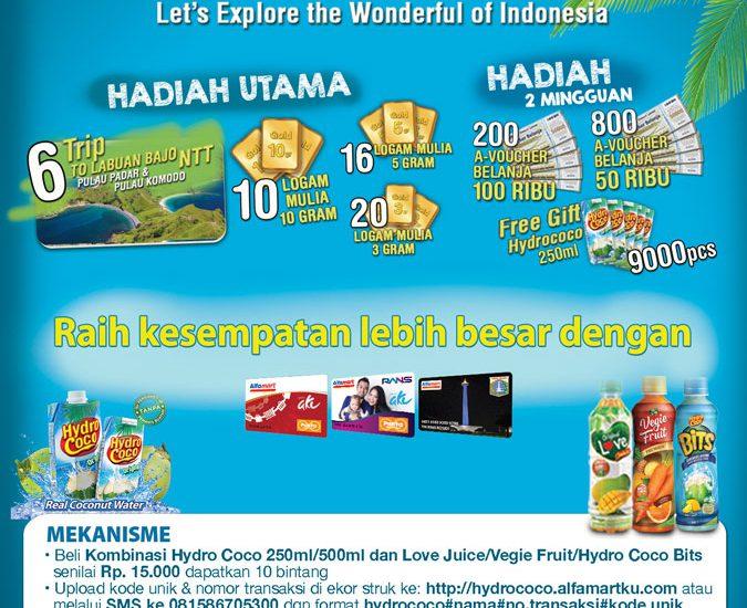 Minum Hydro Coco, Tubuh Sehat dan Berkesempatan Dapatkan Logam Mulia
