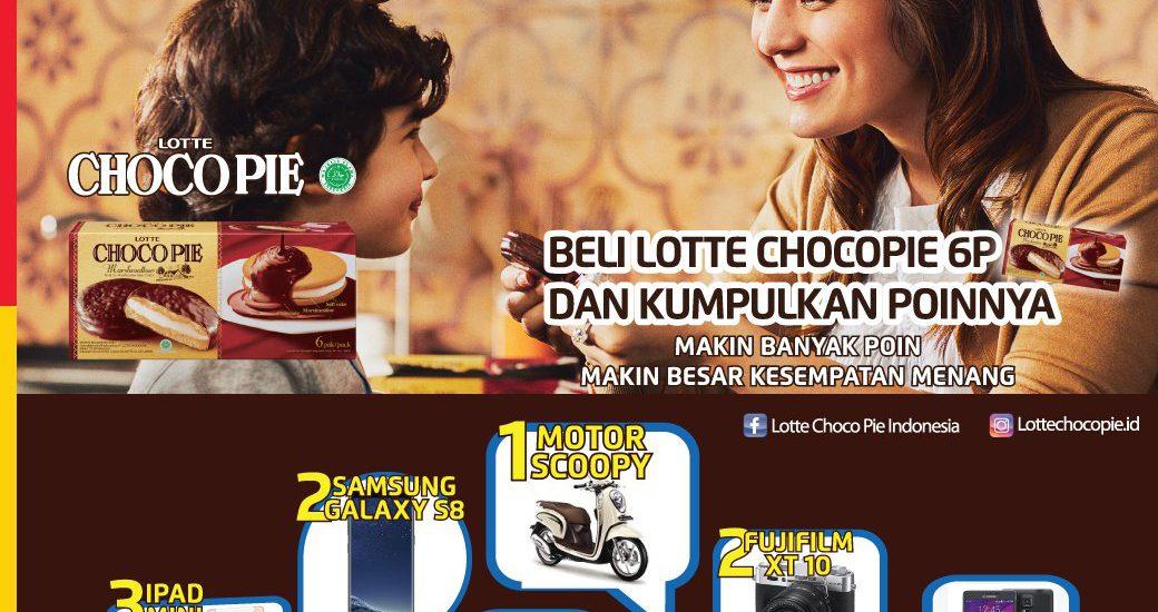 Rasakan Kenikmatan Cokelatnya dan Ikuti  promo Lotte Choco Pie di Alfamart