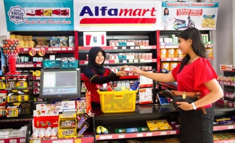 Belanja Lebih Mudah Dengan Dana di Alfamart
