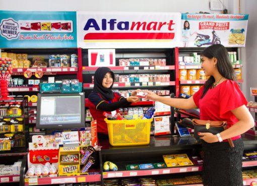 Bayar Tiket di Alfamart Proses nya makin mudah