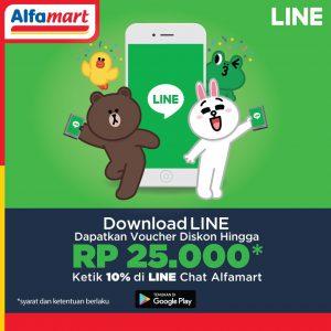 Line Alfamart