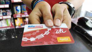 Kartu member Alfamart